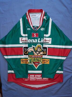 "Official Belfast Giants Ice Hockey Jersey,new,size 2Xl,46"" Chest"