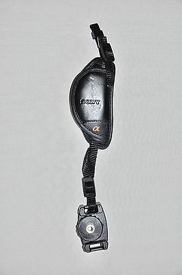 Sony Stp-Gb1Am Leather Hand Grip Strap Black For Sony Dslr/slr  New