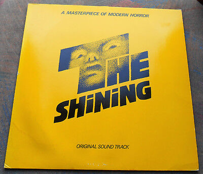 LP The SHINING Original Sound Track 1st GERMANY, EX+