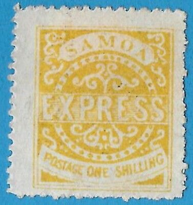 + 1879 Western Samoa South Pacific Express Post #6c. A1 1Sh MH