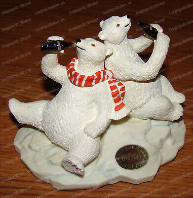 Coca-Cola Polar Bear & Friend (Heritage Coke Collection, 77013) 1996