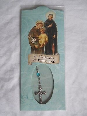 St. Peregrine chaplet rosary decade bead patron of cancer Saint of Italy Anthony