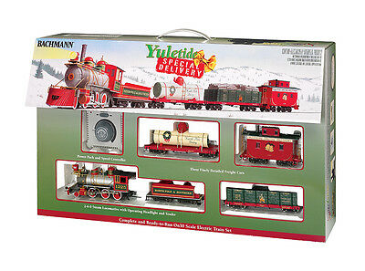 Bachmann On30 25022 Yuletide Special Delivery Ready to Run Train Set