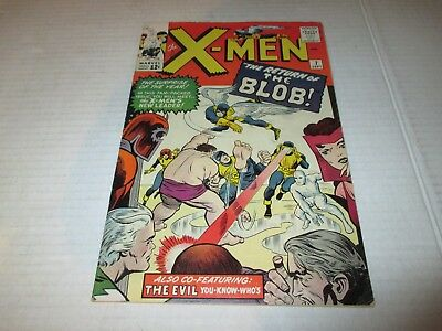 X-Men #7 Return Of The Blob Higher Grade