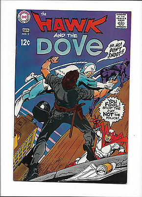 """Hawk & The Dove #3  [1969 Fn+]  """"after The Cat"""""""