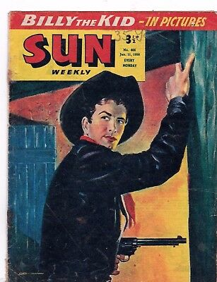 The Sun Comic   # 466  1958    Battler Britton