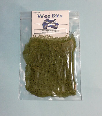 1/35th 1/48th Camouflage Netting Green Wee Friends WB35008