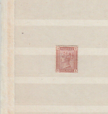 A very nice GB Victoria Unused 1d 1880-81 issue SG166