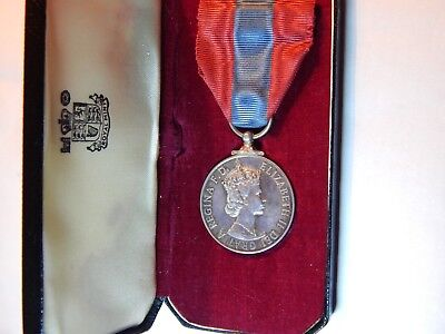 ORIGINAL IMPERIAL SERVICE MEDAL,alfred john saunders,ORIGINAL CASE OF ISSUE