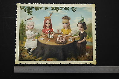 Mark RYDEN Allegory of the four elements original print Tree Show portfolio n°5