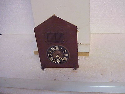 Vintage E. Schmeckenbacher Automated Musical Cuckoo Clock Mvt parts repair AA