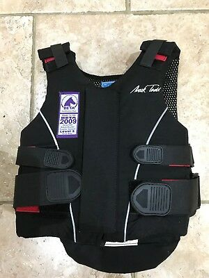 Mark Todd Body / Back Protector Sz Child Extra Small Fully Adjustable
