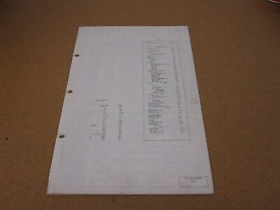 1972 ford pinto wiring diagram sheet schematics service manual