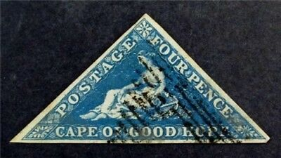 nystamps British Cape of Good Hope Stamp # 2 Used $170