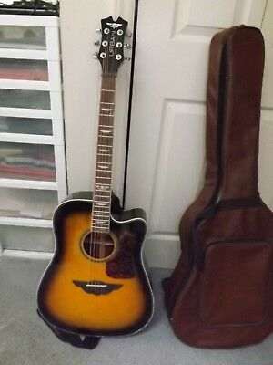 Great Looking Keith Urban Acoustic Guitar,w/ Padded Vinyl Gig bag and strap