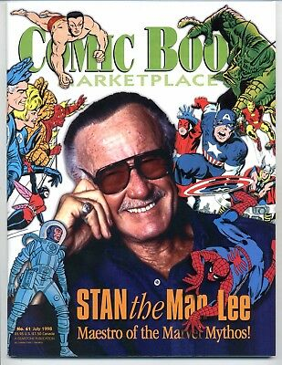 Comic Book Marketplace #61    Stan Lee Photo Cover