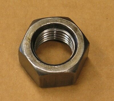 "FMC Brake Lathe 1"" Arbor Shaft Nut Coarse Thread Accuturn, Bosch, John Bean, JBC"