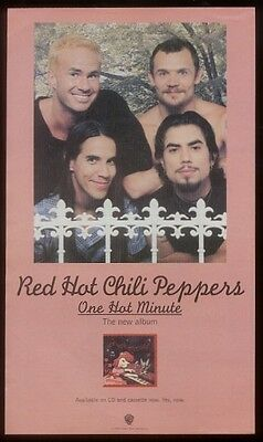 1995 Red Hot Chili Peppers photo One Hot Minute ad