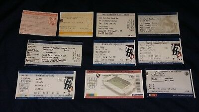 West Brom Home Tickets x10 (All Listed)