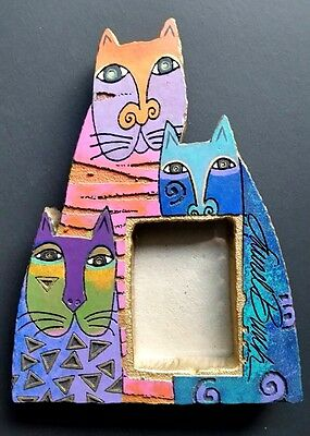 Laurel Burch Cats Picture Frame Felines Kitty Cat