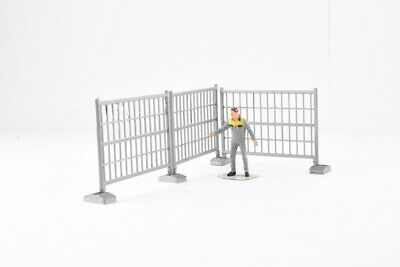 TEMPORARY CONSTRUCTION SITE SAFETY FENCING in 1:50 Scale #2