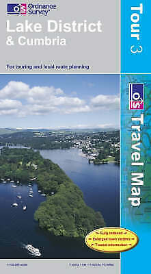 Lake District and Cumbria by Ordnance Survey (Sheet map, folded, 2007)