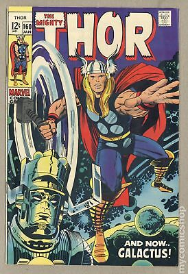 Thor (1962-1996 1st Series Journey Into Mystery) #160 VG+ 4.5