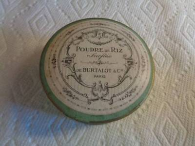 Vintage Poudre De Riz Face Powder De Bertalot  Paris France Unused