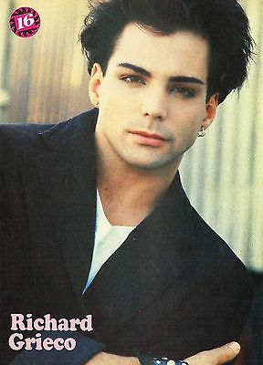 """Fred Savage - Richard Grieco - 11"""" X 8"""" Mag Poster Pinup - Teen Boy Actor - 11"""