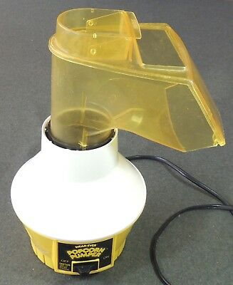Wear-Ever USA 73000 Hot Air Popcorn Pumper Popper 1250 Watts EUC