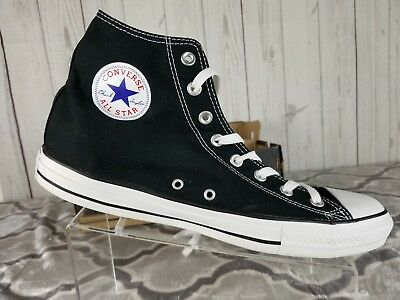 Converse Chuck Taylor All Star Hi Hightop Black WhtUnisex Sneakers WITH BOX Sz11