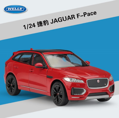 Welly 1:24 Jaguar F-Pace Diecast Metal Model Car Red New in box