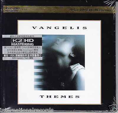 """""""Vangelis - Themes"""" Japan K2HD Audiophile CD Limited Numbered Edition New Sealed"""