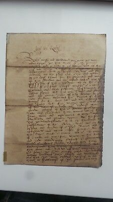 "lady jane grey letter ""jane the quene"" queen , plus debtors / account book 1702,"