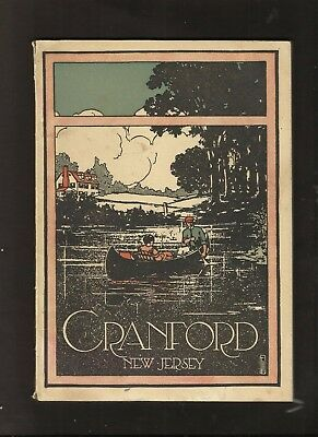 1913 Central Railroad Of New Jersey Book Cranford,  New Jersey