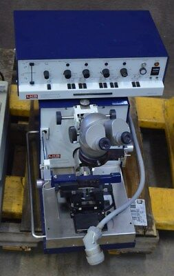 LKB Ultra Microtome 2128 Ultramicrotome Cutting System w/ Control Unit