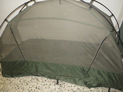 Orig.NL Armee Moskito Dome Single Tent - Moskitoschutzzelt 220x65 cm gebraucht