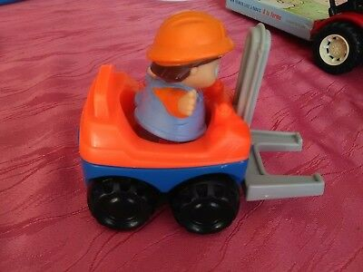 fenwick et personnage fisher price