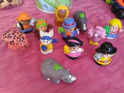 lot de personnage fisher price