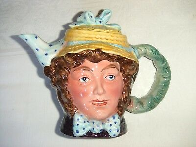 Vintage Beswick Dolly Varden Character Novelty Teapot ~ 1203