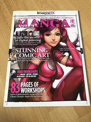 ImagineFX presents How to Draw and Paint Manga Book/Magazine, Illustration