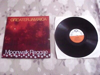 TOMMY  McCOOK AND THE SUPERSONICS  LP  GREATER JAMAICA  Moonwalk Reggae