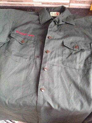 Boys Scouts Of America Long Sleeve Shirt(some Damage)
