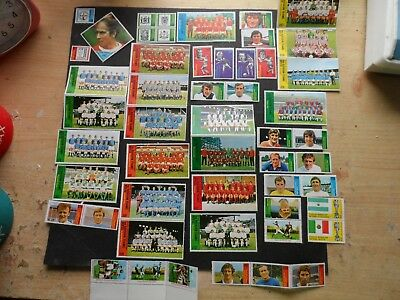 cinderella stamps sun stamps footballer  page of them   see photos