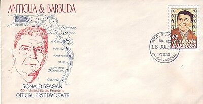 Antigua - Various Special Events, Views, & Anniversaries (8no. FDC's) 1976-93