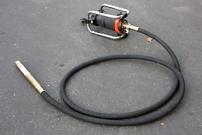 1100W Electric Concrete Vibrator w/ 14-3/4 Ft Poker to Remove Air Bubbles Level