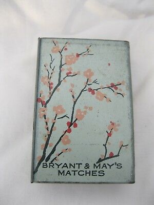 Less Common Bryant And May's Matchbox Cover With Cherry Blossom