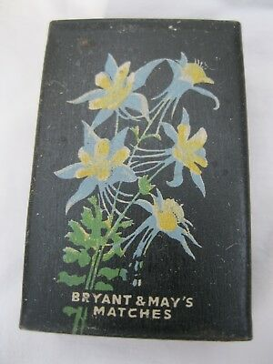 Less Common Bryant And May's Matchbox Cover With Exotic Flowers #2