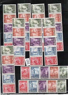 Wt 10X Philippines - Mnh - Scouts - Wholesale