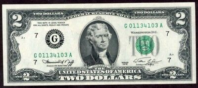 Usa 2 Dollars 1976  Note !!!!! Unc